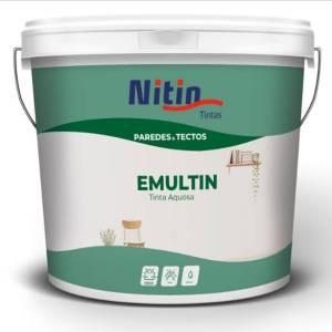 Peinture aqueuse mat économique. Pour travaux maison intérieur/extérieur, murs et plafonds, blanc, couleurs. Peinture mat acrylique Armentières.
