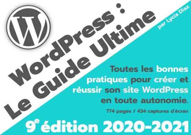 WordPress 2020 2021 Light Ebook Cover