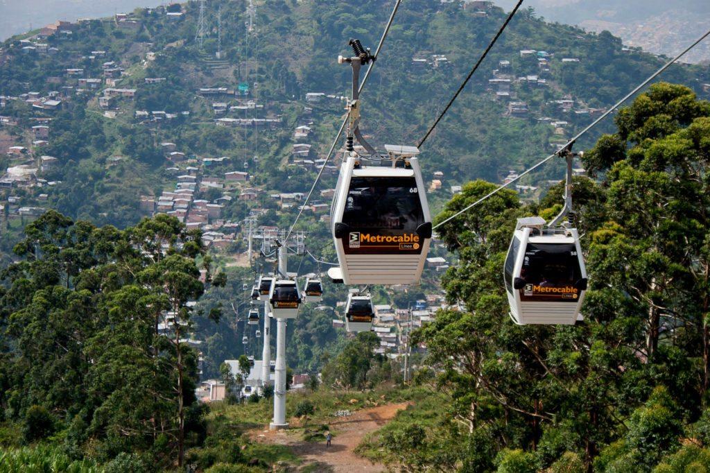 Aires de innovación: los teleféricos como complemento al transporte urbano