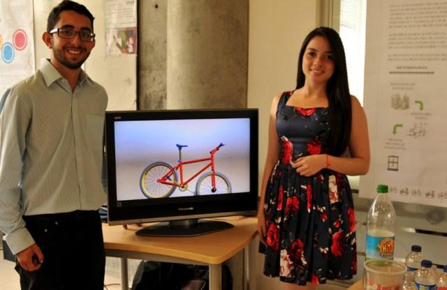 Fabrican marco de bicicleta con material reciclado