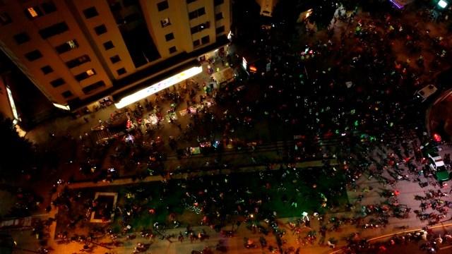 Miles de ciclistas de Santiago exigen reducir la velocidad en las ciudades