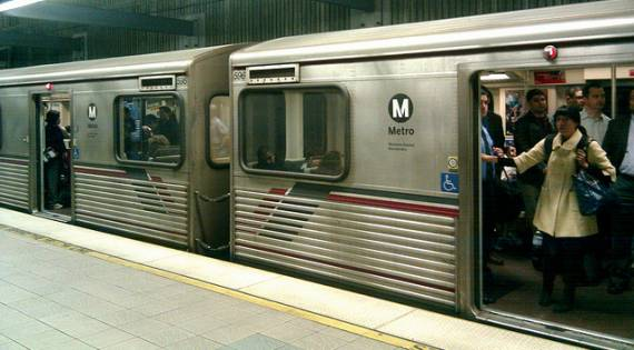 The subway might be full, but extending it to UCLA won't make a dent in the 26,000,000 car trips added to the Westside in the next 30 years.  Photo: Spokker Jones/Flickr