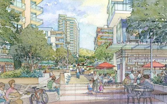 """NBC Evolution will be a """"mixed use transit oriented development."""""""