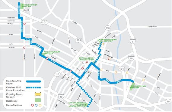 CicLAvia Announces Expanded Route for October Heading North
