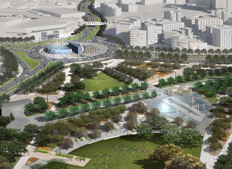 """BNSF and Architects Cosponsor """"Great Park"""" Design"""