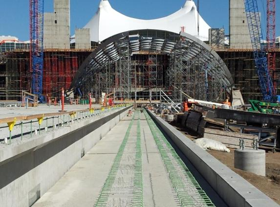All images from Denver airport line reconstruction from the Denver RTD via Roger Rudick