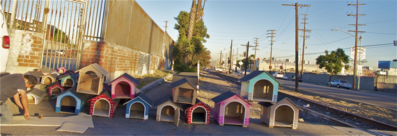 There's even someone who cares about Fido. Sahra Sulaiman/LA Streetsblog