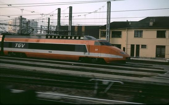 TGV High Speed Rail in France. Photo: TGV