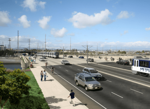 The New Lincoln Blvd. Bridge? All images via Westside Mobility Forum.