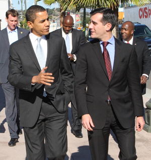 The Obama budget comes through for Eric Garcetti and Metro. Image: Eric Garcetti.com
