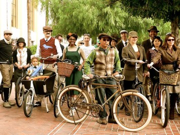 Riders at C.I.C.L.E.'s 2009 Tweed Ride. Photo: CICLEorg Flickr