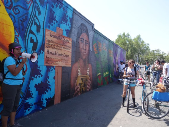"""A member of the HOODSisters collectives shares the inspiration behind the """"Honoring Our Origins"""" mural"""