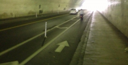 Second Street Tunnel (looks better in real life than it does in this meager photo)