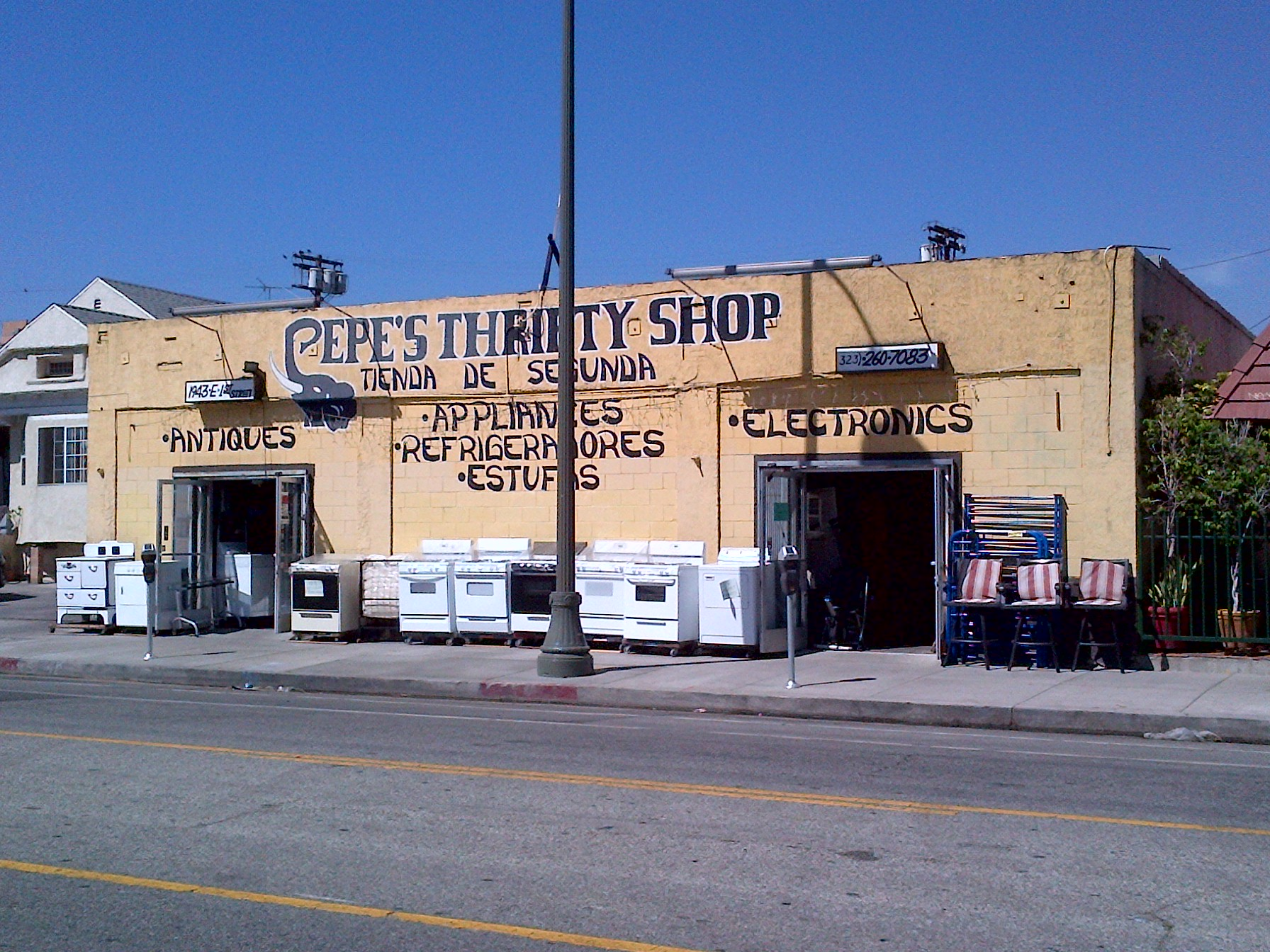Pepe's Thrifty Shop. Photo: Pepe's Thrifty Shop