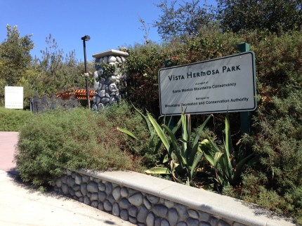 Vista Hermosa Park is one of a handful of parks that make for great rest stops along the CicLAvia route. Photo: Joe Linton/Streetsblog L.A.