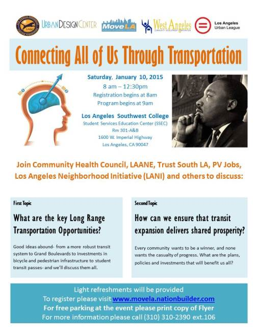 South L.A. Community Forum hosted by Move L.A.