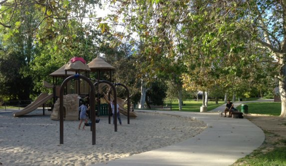 For a tot lot break by this Sunday's CicLAvia, try North Weddington Park