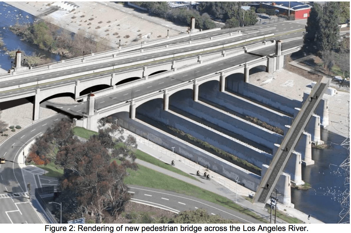 A Tale of Two Future Bridges: New Bike/Ped Crossing on L A  River
