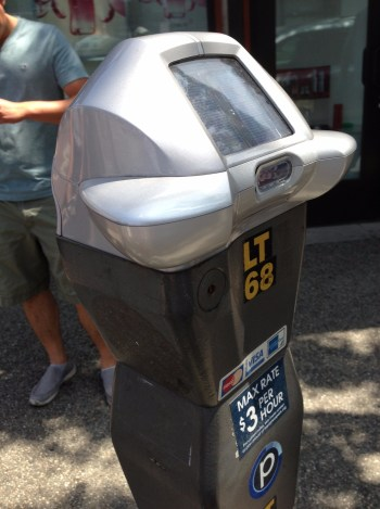 New parking meters with occupancy-sensor technology