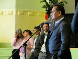 Councilmember Gil Cedillo blocked LADOT's plan to make North Figueroa safer. Photo via Fig4All