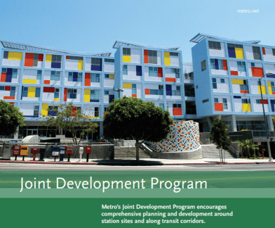 Metro is revising its joint development program to better foster transit-oriented affordable housing. Image via Metro [PDF]