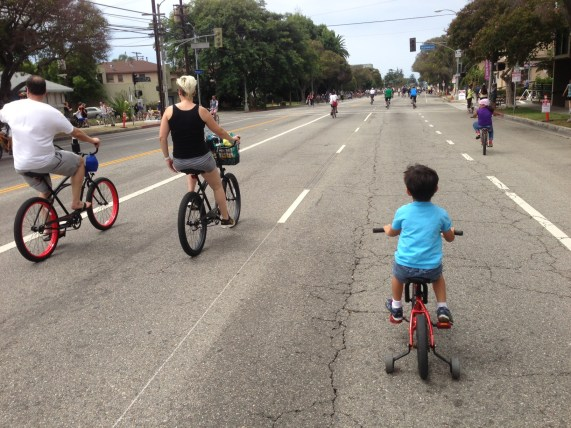 CicLAvia is always a great day - for Angelenos of all ages