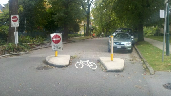 Greenway Projects Closed Through Traffic to Cars-Making A Safe Bike Route