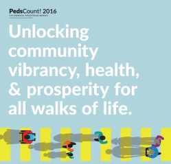 Sign up now for PedsCount 2016