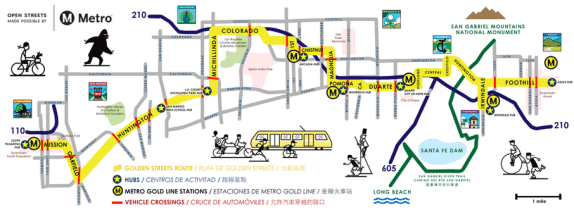 626 Golden Streets is this Sunday. Click here for detailed route map.