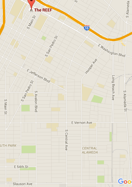 Early in the 20th century, African Americans were restricted to zone bound by Main, Washington, Alameda, and Slauson