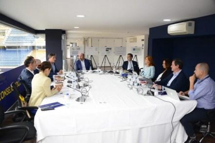 7 integrantes de La 11Mil, en el Consejo Social del Cádiz CF, que preside José María Vallejo