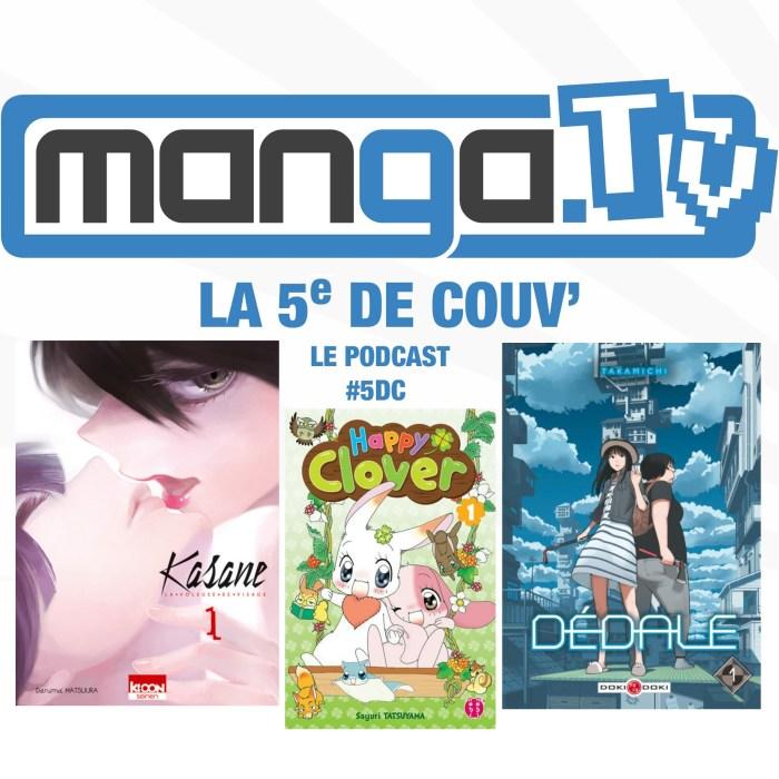 Top/Flop de l'année et représentation de la femme – La 5e de couv' – le podcast de Manga.Tv – Saison 1 Episode 5  #5DC – intégrale