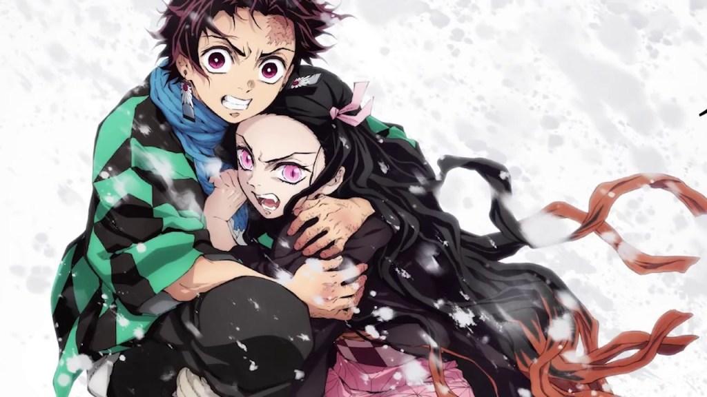 Tanjiro et Nezuko lié à jamais