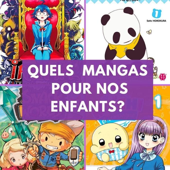 Quels mangas pour nos enfants ? – La 5e de Couv' – #5DC – Saison 6 épisode 15