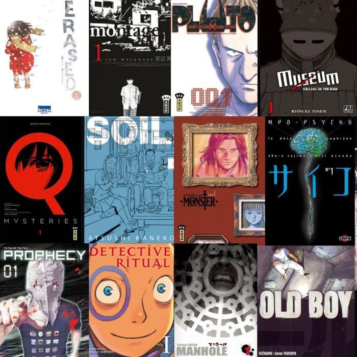 Une année, un polar ou un thriller manga – La liste des titres à suspense depuis 2001