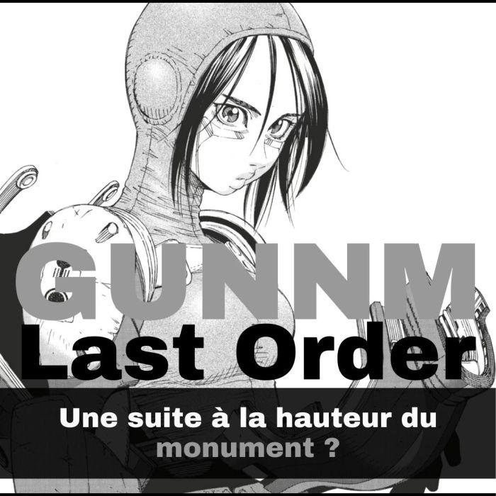 Gunnm Last Order (part 1) : une suite à la hauteur du monument Gunnm ? – La 5e de Couv' – #5DC – S6E35