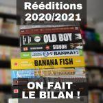 Réédition manga 2020/2021 : on fait le bilan !