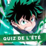 La 5e de Quiz : le quiz manga de l'été 2021 !