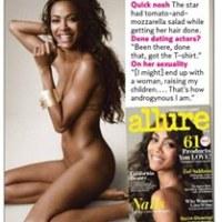 Zoé Saldaña posa desnuda para revista