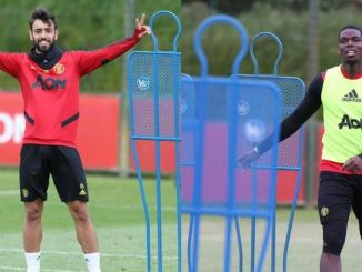 Pogba and Bruno Fernandes