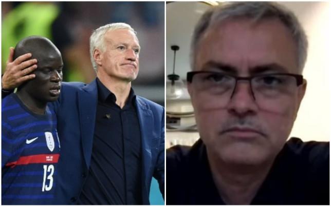 Didier Deschamps and Jose Mourinho 2299