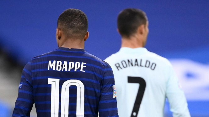 Mbappe Ronaldo