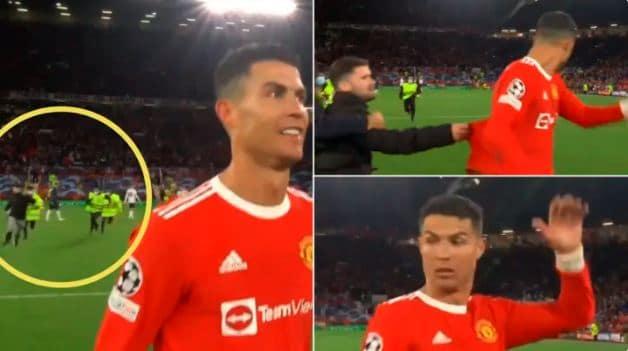 Ronaldo fan chasing