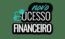 Logo curso novos sucesso financeiro laado