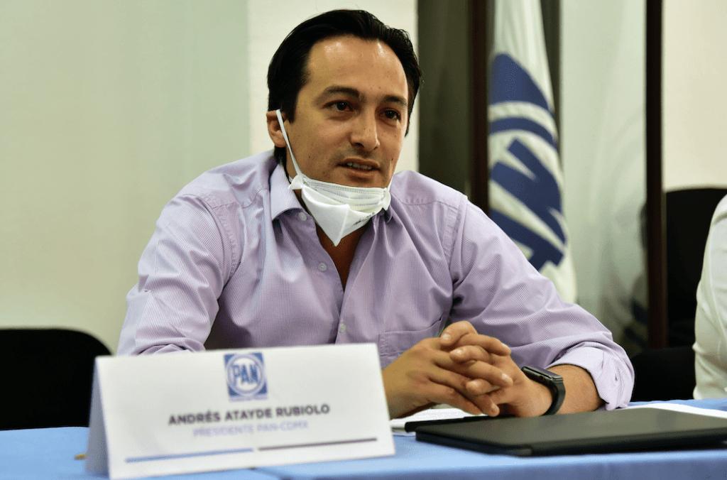 Andrés Atayde: Urge apoyar al sector productivo de CDMX