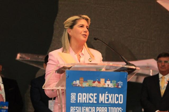 Martha Herrera es nombrada co-presidenta de la Alianza del Sector Privado para Sociedades Resilientes ante Desastres (ARISE), primera vez que LATAM ocupa el cargo