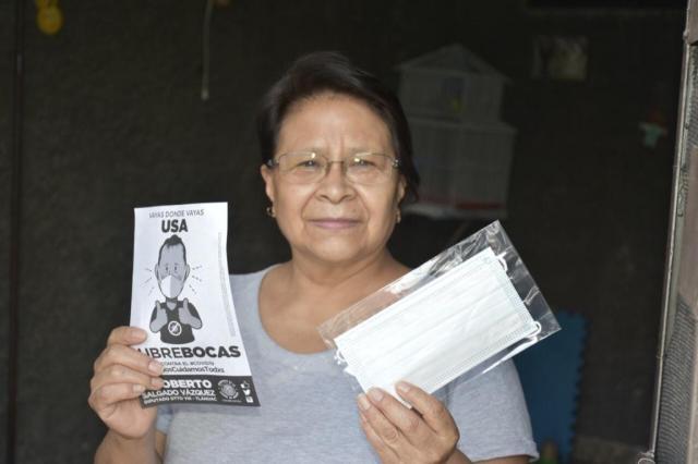 Rigoberto Salgado realiza jornada de gestión e información para prevenir el COVID-19 en Tláhuac
