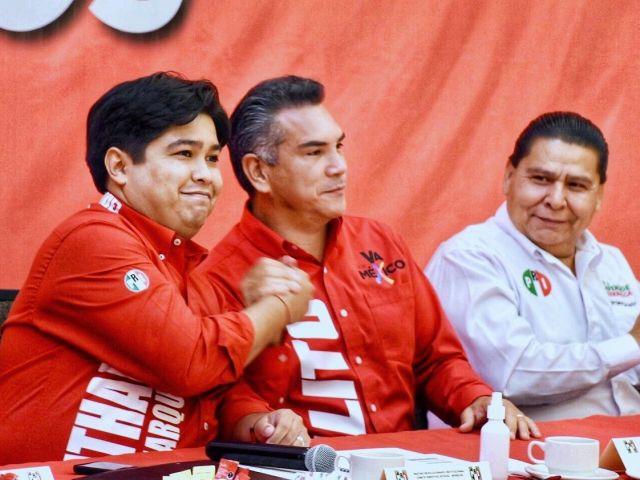 Con unidad el PRI en Morelos es un partido competitivo para la cuidadania: Alejandro Moreno