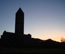 Silhouette Church in Sardinia
