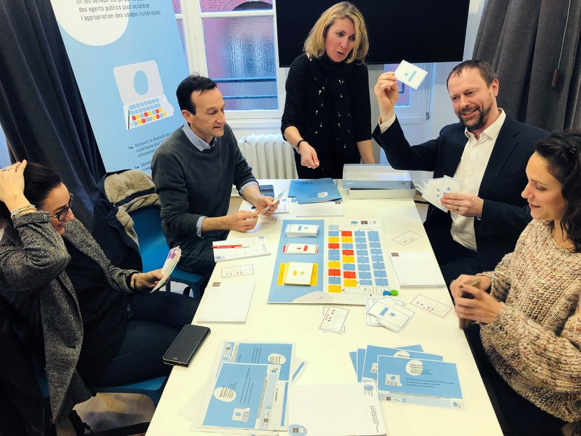 Lancement du jeu Empreinte digitale